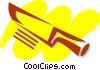 Vector Clipart image  of a Knives