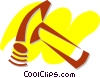 Hammers Vector Clipart illustration