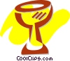 Vector Clipart graphic  of a Chalices