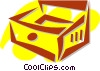 Drawers and Cabinets Vector Clipart picture