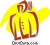 Coats and Jackets Vector Clipart picture