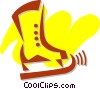Skating Vector Clipart picture