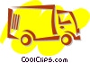Mid-Size Trucks Vector Clipart illustration