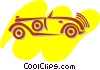 Antique or Vintage Automobiles Vector Clip Art image