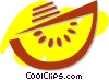 Vector Clip Art picture  of a Watermelons