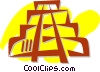 Vector Clipart illustration  of a Incan Pyramids