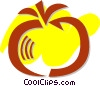 Vector Clipart graphic  of a Tomatoes
