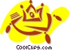 Vector Clipart illustration  of a Royalty