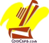 Vector Clip Art graphic  of a Razors