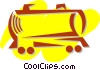 Vector Clipart image  of a Trains Locomotives