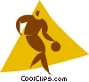 basketball player Vector Clip Art picture