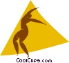 dancer Vector Clipart graphic