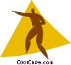 Vector Clipart picture  of a martial arts