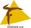 gymnast Vector Clip Art picture