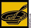 Vector Clip Art picture  of a Soup