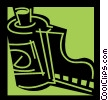 Vector Clipart image  of a Film