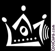 Vector Clipart image  of a Royalty