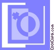 female symbol Vector Clipart picture