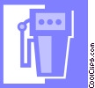 gas pump Vector Clipart image