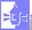 Vector Clipart picture  of a lantern