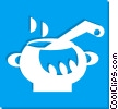 cooking pots Vector Clip Art picture