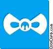 Vector Clip Art graphic  of a bow tie