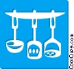 cooking utensils Vector Clip Art image