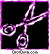 Scissors Vector Clipart graphic