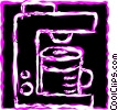 Coffee Pots and Coffee Makers Vector Clip Art image