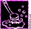 Vector Clipart illustration  of a Misc Cleaning Materials