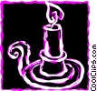 Candles Vector Clip Art picture
