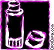 Vector Clipart picture  of a Thermos