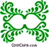 Vector Clipart picture  of a Decorative Flourishes
