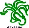 Vector Clip Art image  of a Decorative Flourishes