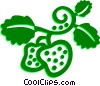 Vector Clipart image  of a Strawberries