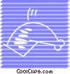 Vector Clipart image  of a Pork
