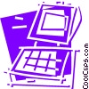 Vector Clipart picture  of a Cash Register