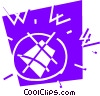 Vector Clip Art picture  of a Internet