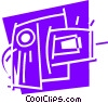 Vector Clipart illustration  of an Abstract Designs