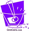Mortar and Pestle Vector Clip Art picture