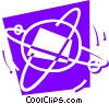 Atoms Vector Clipart picture