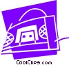 Vector Clip Art graphic  of a Mini Systems