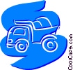 Dump Trucks Vector Clipart picture