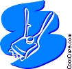 Vector Clip Art picture  of a Misc Cleaning Materials