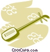 Vector Clipart picture  of a Oud