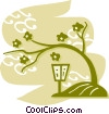 Bonsai Trees Vector Clipart illustration
