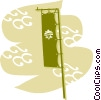 Vector Clipart picture  of a China