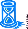 Hourglasses Vector Clip Art graphic