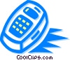 remote control Vector Clipart illustration