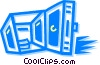 Vaults and Safes Vector Clipart graphic